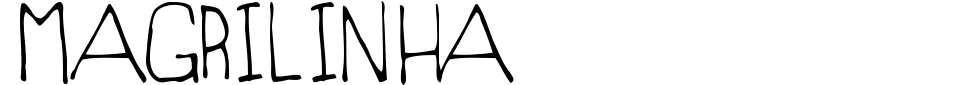 Vorschau der Schriftart - Magrilinha