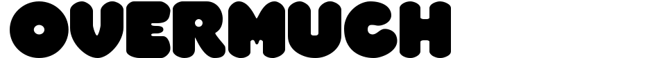 Vista previa - Overmuch