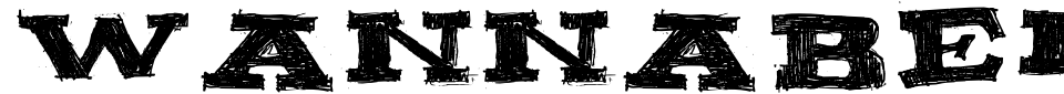 Anteprima - Font Wannabeme