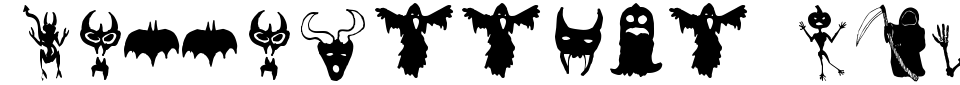 Anteprima - Font Holloweenie Bats