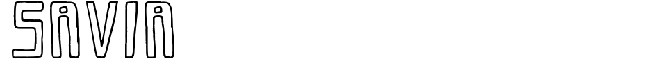 Vorschau der Schriftart - Savia