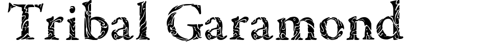 Tribal Garamond Font Generator Preview