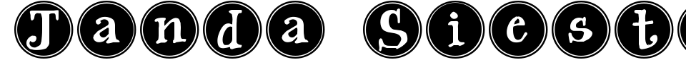 Vorschau der Schriftart - Janda Siesta Sunrise