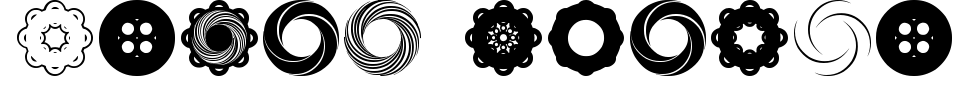 フォントプレビュー:Fluid Spiral