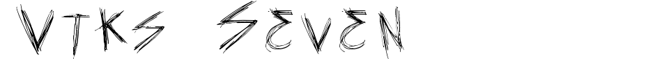 Vista previa - Fuente Vtks Seven