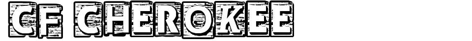 CF Cherokee Font Generator Preview