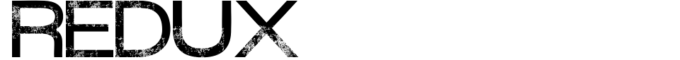 Vorschau der Schriftart - Redux