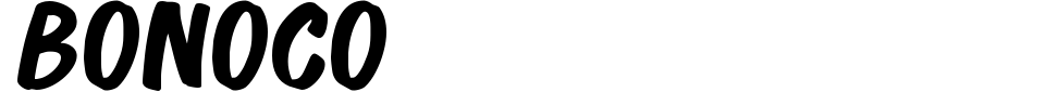 Visualização - Fonte Bonoco