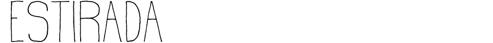Estirada Font Generator Preview