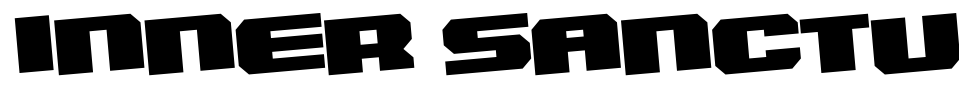 Inner Sanctum Font Generator Preview