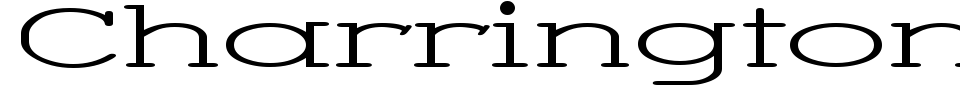 Anteprima - Font Charrington