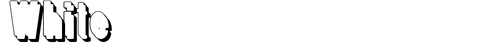 Anteprima - Font White