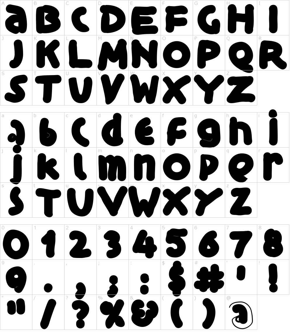 Schriftart Black Is Beauty