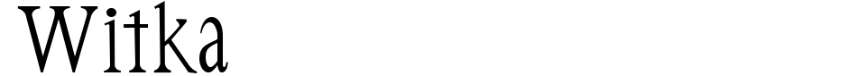 Vista previa - Fuente Witka