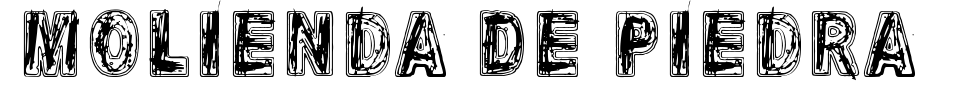 Molienda De Piedra Font Preview