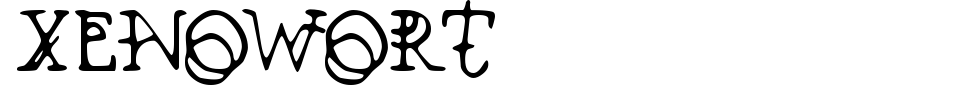 Vista previa - Fuente Xenowort