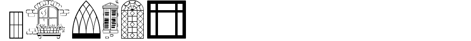 Vorschau der Schriftart - Window