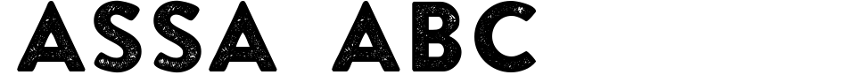 Vorschau der Schriftart - ASSA