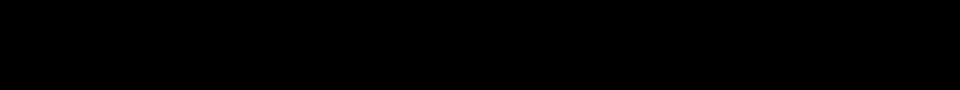 Vista previa - Fuente Tetsubin Gothic