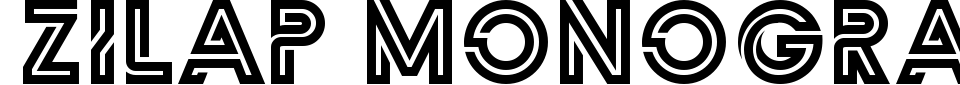 Zilap Monograma Font Preview