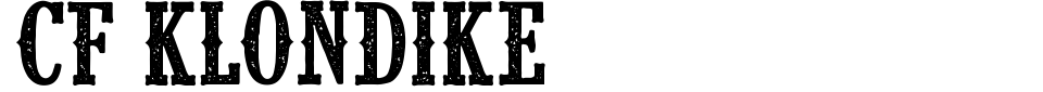 Vista previa - Fuente CF Klondike