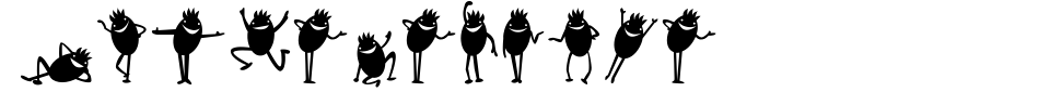 Anteprima - Font Diavolo Nero