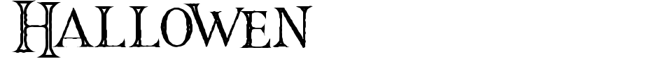 Anteprima - Font Hallowen