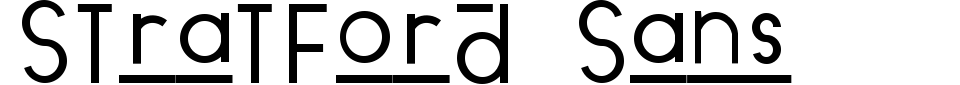 Vista previa - Fuente Stratford Sans