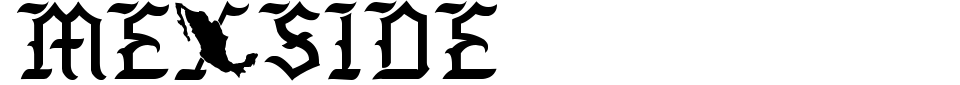 Vorschau der Schriftart - Mexside