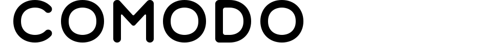字体预览:Comodo