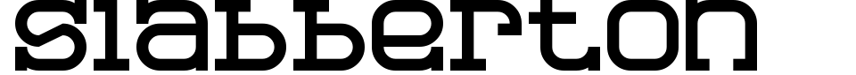 Vista previa - Fuente Slabberton