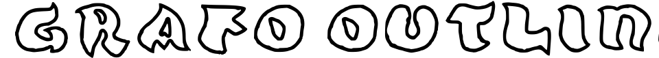 Grafo outline Font Preview