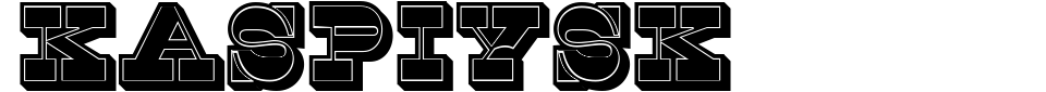 Visualização - Fonte Kaspiysk