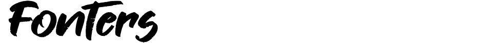 Vorschau der Schriftart - Fonters