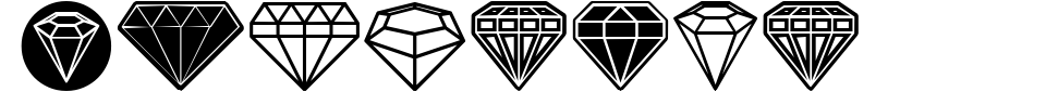 Diamondo Font Preview