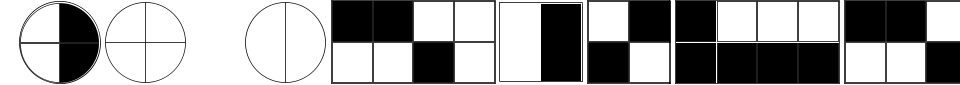 KG Fractions Font Preview