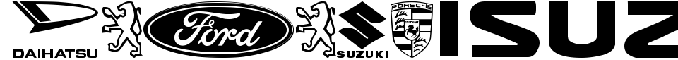 Logocarsbats TFB Font Preview