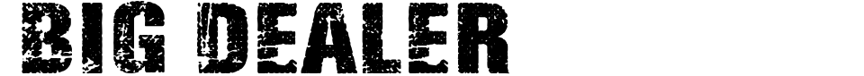 Vista previa - Fuente Big Dealer