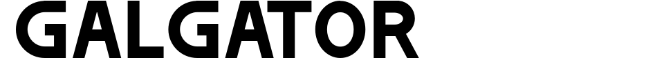 Visualização - Fonte Galgator