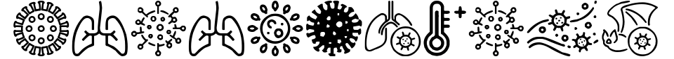 폰트 미리 보기:Coronavirus