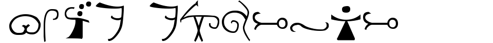 폰트 미리 보기:Olde Espruar