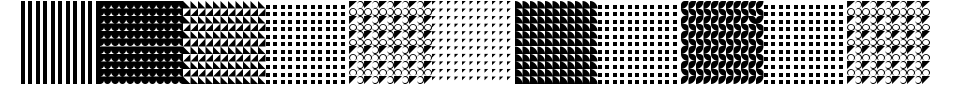 Serangkaian Pattern Font Generator Preview