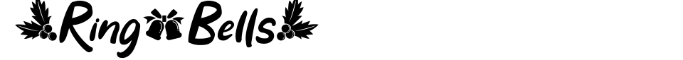 Visualização - Fonte Ring Bells