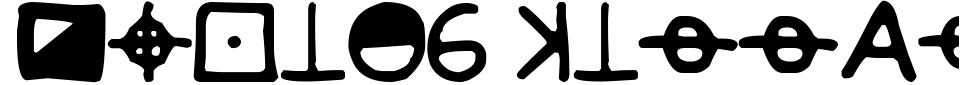 Vista previa - Fuente Zodiac Killer Code