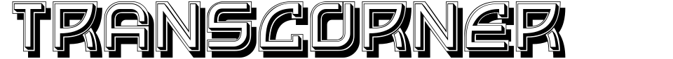 Transcorner Font Generator Preview