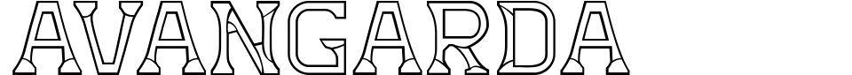 Avangarda Font Preview