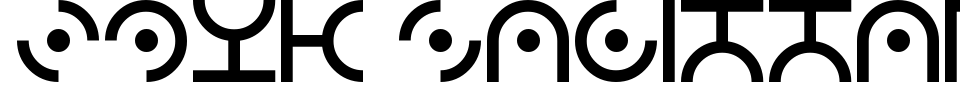 フォントプレビュー:Zdyk Sagittarius