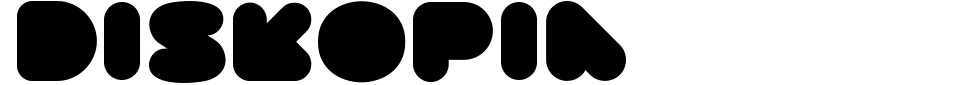Diskopia Font Preview