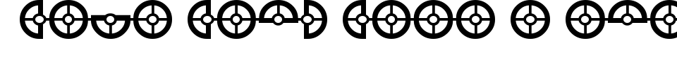 フォントプレビュー:Cybertron OpCode