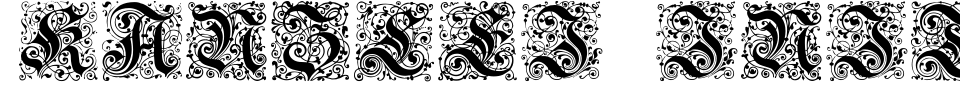 Kanzlei Initialen Font Generator Preview